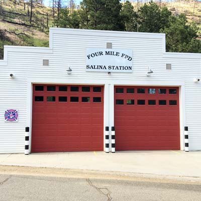 Salina Fourmile Fire Station